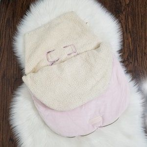 JJ Cole Collection | Winter Car Seat Cover Pink
